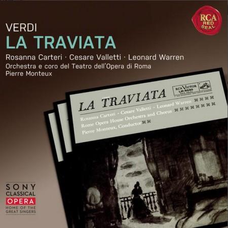 Pierre Monteux: Verdi: La Traviata - CD