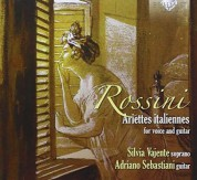 Silvia Vajente: Rossini: Ariettes italiannes for voice and guitar - CD