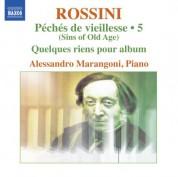 Alessandro Marangoni: Rossini: Piano Music, Vol. 5 - CD