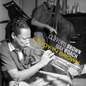 Clifford Brown, Max Roach: Study In Brown (Images by Iconic Photographer Francis Wolff) - Plak