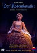 Kiri Te Kanawa, Anne Howells, Aage Haugland, Barbara Bonney, Orchestra of the Royal Opera House Covent Garden, Georg Solti: R. Strauss: Der Rosenkavalier - DVD