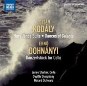 Gerard Schwarz, Seattle Symphony Orchestra: Kodaly: Hary Janos Suite - Dances of Galánta - Dohnanyi: Konzertstück - CD