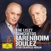 Daniel Barenboim, Pierre Boulez, Staatskapelle Berlin: Liszt: Concertos - CD