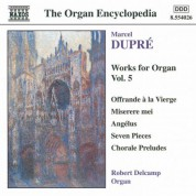 Dupre: Works for Organ, Vol.  5 - CD