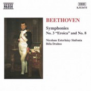 Bela Drahos, Nicolaus Esterhazy Sinfonia: Beethoven: Symphonies Nos. 3 and 8 - CD