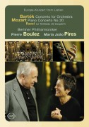 Maria João Pires, Berliner Philharmoniker, Pierre Boulez: Europakonzert 2003 from Lisbon - DVD