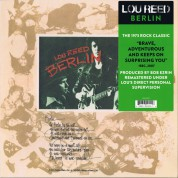 Lou Reed: Berlin (Remastered) - Plak