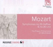The Prague Philharmonia, Jiří Bĕlohlávek: Mozart: Symphonies no.35