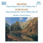 Brahms: Piano Sonata No. 3 / Schumann: Piano Sonata No. 2 - CD