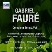 Renee Doria: Faure: Complete Songs, Vol. 1 - CD