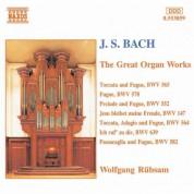 Wolfgang Rubsam: Bach, J.S.: Great Organ Works - CD
