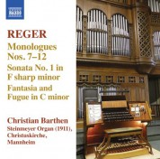 Christian Barthen: Reger: Organ Works, Vol. 13 - CD