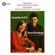 Jacqueline Du Pre: Schumann, Saint Saens: Cello Concerto, - CD