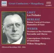 Weber / Berlioz: Overtures / Liszt: Les Preludes (Mengelberg) (1928-1942) - CD