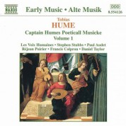 Hume: Captain Humes Poeticall Musicke, Vol. 1 - CD