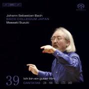 Bach Collegium Japan, Masaaki Suzuki: J.S. Bach: Cantatas, Vol. 39 - SACD