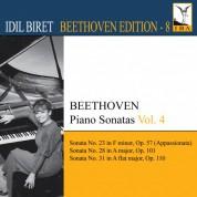 İdil Biret: Beethoven: Piano Sonatas, Vol. 4 - No: 23, 28, 31 - CD