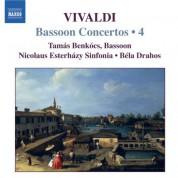Tamas Benkocs: Vivaldi: Bassoon Concertos (Complete), Vol. 4 - CD