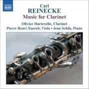 Olivier Dartevelle: Reinecke: Music for Clarinet - CD