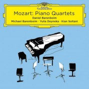 Daniel Barenboim, Michael Barenboim, Yulia Deyneka, Kian Soltani: Mozart: Piano Quartets - CD
