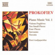Prokofiev: Ten Small Pieces / Sarcasms / Visions Fugitives - CD