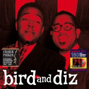 Charlie Parker, Dizzy Gillespie: Bird And Diz + 2 Bonus Tracks Colored Edition in Solid Red. - Plak