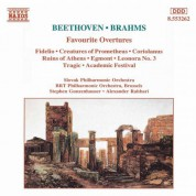 Beethoven / Brahms: Favourite Overtures - CD