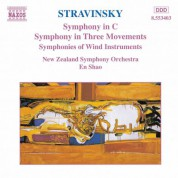 En Shao: Stravinsky: Symphony in C / Symphony in Three Movements - CD