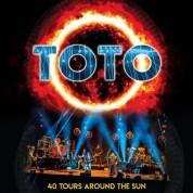 Toto: 40 Tours Around The Sun (Limited-Edition - Opaque Orange Vinyl) - Plak