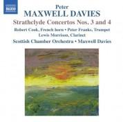 Sir Peter Maxwell Davies: Maxwell Davies: Strathclyde Concertos Nos. 3 & 4 - CD