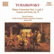 Bernd Glemser: Tchaikovsky: Piano Concertos Nos. 1 and 3 - CD