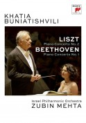 Khatia Buniatishvili, Zubin Mehta, Israel Philharmonic Orchestra: Lıszt: Piano Concerto No 2, Beethoven: Piano Concerto No: 1 - DVD