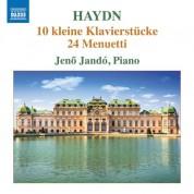 Jenö Jandó: Haydn: 10 Kleine Klavierstücke / 24 Menuetti - CD