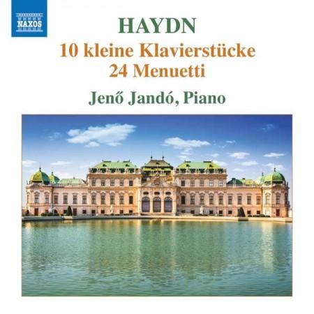 Jeno Jando: Haydn: 10 Kleine Klavierstücke / 24 Menuetti - CD