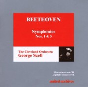 Cleveland Orchestra, George Szell: Beethoven: Sym. No. 4, 5 - CD