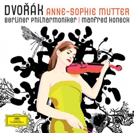 Anne-Sophie Mutter, Berliner Philharmoniker, Manfred Honeck: Dvořák: Violin Concerto - CD