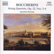 Boccherini: String Quartets Op. 32, Nos. 3-6 - CD