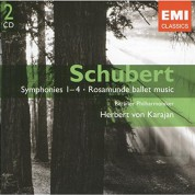 Herbert von Karajan, Berliner Philharmoniker: Schubert: Symphonies Nos. 1-4; Rosamunde ballet music - CD