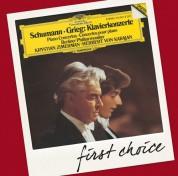 Berliner Philharmoniker, Herbert von Karajan, Krystian Zimerman: Grieg/ Schumann: Piano Concertos - CD