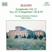 Nicolaus Esterhazy Sinfonia: Haydn: Symphonies, Vol. 11 (Nos. 53, 86, 87) - CD