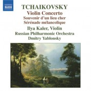 Ilya Kaler: Tchaikovsky: Violin Concerto - Souvenir d'un lieu cher - CD