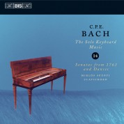 Miklós Spányi: C.P.E. Bach: Solo Keyboard Music, Vol. 14 - CD
