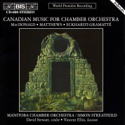 Manitoba Chamber Orchestra, Simon Streatfeild: Canadian Music for Chamber Orchestra - CD