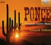Gérard Abiton: Ponce: Complete Guitar Music - CD
