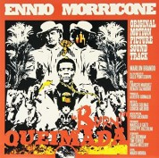 Ennio Morricone: Queimada (Limited Edition - Clear & Orange Mixed Vinyl) - Plak