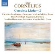 Hans Christoph Begemann, Mathias Hausmann, Christina Landshamer, Markus Schafer: Cornelius: Complete Lieder, Vol. 2 - CD