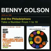 Benny Golson: And the Philadelphians+Take a Number from 1 to 10 - CD
