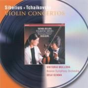 Viktoria Mullova, Boston Symphony Orchestra, Seiji Ozawa: Sibelius/ Tchaikovsky: Violin Concerto - CD
