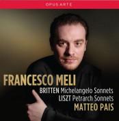 Britten: Michelangelo Sonnets; Liszt: Petrach Sonnets - CD