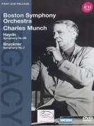 Boston Symphony Orchestra, Charles Munch: Haydn/ Bruckner: Sym. No.98, Sym. No.7 - DVD